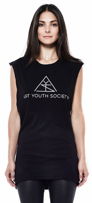 Art_Youth_Society_cut_off_muscle_tee_logo_blk_front